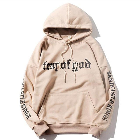 Autumn New fashion sweatshirts men/womens casual hooded sweatshirt Justin Bieber Fear of God hip hop hoodies plus size S-XXXL