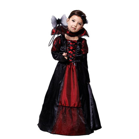 black gothic anime v&ire dress costume for kids Costumes Halloween carnival costumes for children Party Cosplay  sc 1 st  Animetee.com & black gothic anime vampire dress costume for kids Costumes Halloween ...
