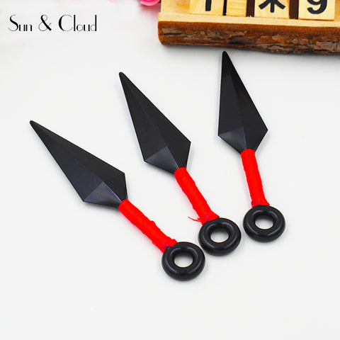 1 Pc 13cm Naruto Shippuden Ninja Kunai Shuriken Plastic Model Assassin Throwing Dart Kids Toys Action Figure