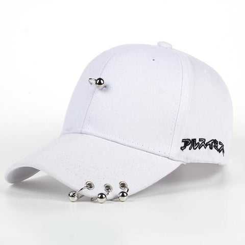 057e5d726c6 Trendy Winter Jacket Mens Snapback Hats Solid Color Iron Ring Decor Co –  2018 AT 142 30 (Animetee.com Friends)