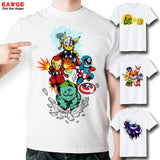 2016 Brand Fashion New Design T Shirt Pokemon Pikachu In Thor Armor Funny Cool Hip Hop 3D T-shirt  Comics Printed Tshirt - Animetee - 1