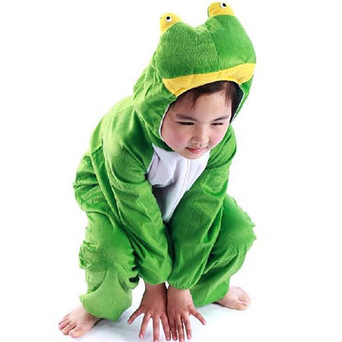 Kids Animal Onesie for Children Frog Costume Frog Prince Roleplay Fancy Dress Full Sleeve Jumpsuit Halloween  sc 1 st  Animetee.com & Kids Animal Onesie for Children Frog Costume Frog Prince Roleplay ...