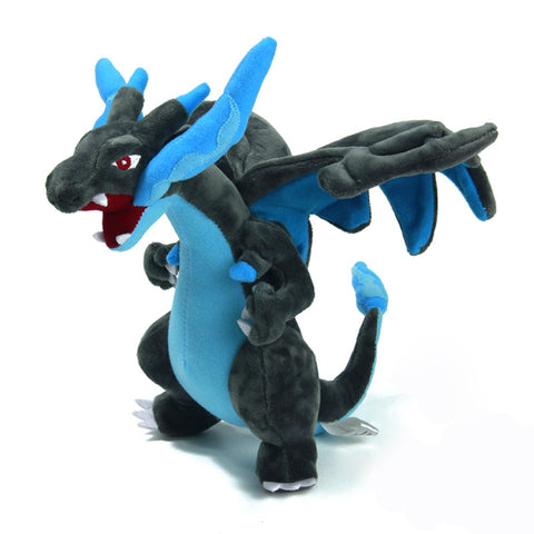 Japanese Anime Pokemon Mega Charizard Mega 23cm Soft Plush Stuffed Doll Toys Action Figures Gifts For friend Kids baby Boys - Animetee