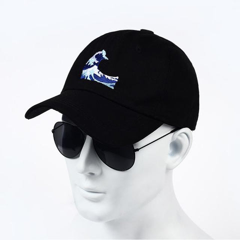 1ecf8f49fd1 VORON 2017 ne w Embroidery Wave Dad Hat Japanese Baseball Cap For Wome –  2018 AT 142 30 (Animetee.com Friends)