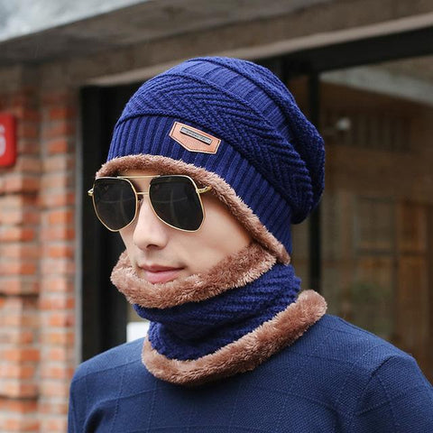 e40bb05af32  Dexing Neck warmer 2016 knit cap scarf cap two-piece Winter Hats For –  2018 AT 142 30 (Animetee.com Friends)
