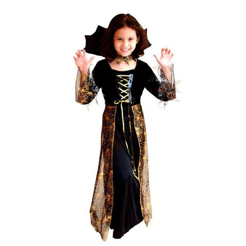 Halloween Vampire Costume Kids.M Xl Fancy Girls Halloween Vampire Costumes Kids Witch Cosplay Children Sorceress Role Play Easter Christmas Parade Party Dress