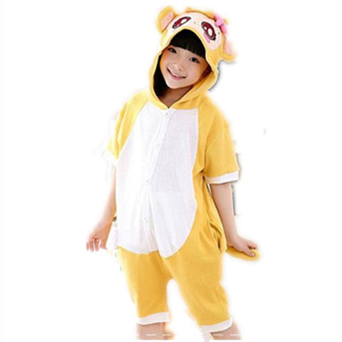 1662c170f Cartoon Anime monkey Cosplay Costume Summer Jumpsuit Short Sleeve ...