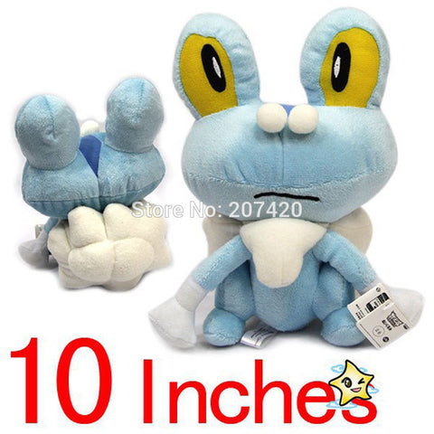 25cm Japanese Anime Cartoon Pokemon Froakie Plush Toy Doll For Xmas Gifts,1pcs/pack - Animetee