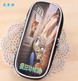 Zootopia  Cute Color Print Leather Pencil case holder stationery Storage Organizer student gift bag Office pouch - Animetee - 3