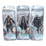 Assassins Creed 4 Black Flag Connor Haytham Kenway Edward Kenway PVC Action Figure Toys new arrival - Animetee - 1