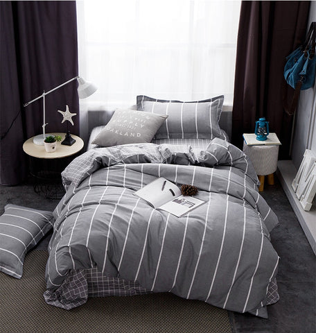New Fleece Teddy Collection Star Foil Duvet Set And Fitted Sheets Home & Garden Home & Garden All Sizes Elegant In Style