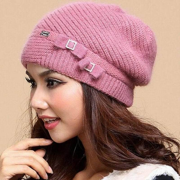 794a42174a5 New Autumn And Winter Women Hat Winter Beanies Knitted Hats For Woman –  2018 AT 142 30 (Animetee.com Friends)