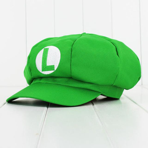 bc952585da36e New Game Characte Luigi Super Mario Bros Cosplay Hat Red Green Hat Cap –  2018 AT 142 30 (Animetee.com Friends)