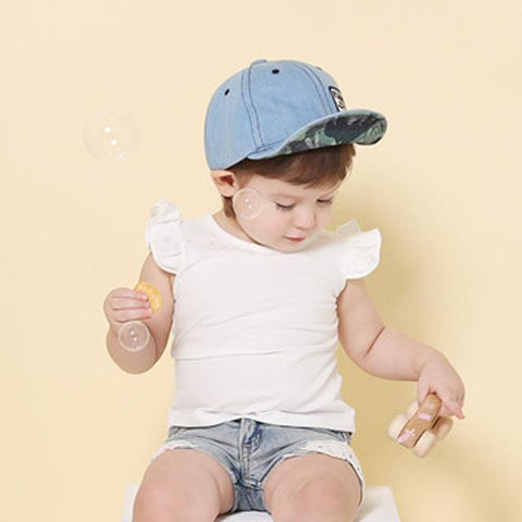 a5f7cd04 Baby Toddler Summer Letter Embroidery Tide Denim Cap Baseball Sun Hat –  2018_AT_142_30_(Animetee.com_Friends)