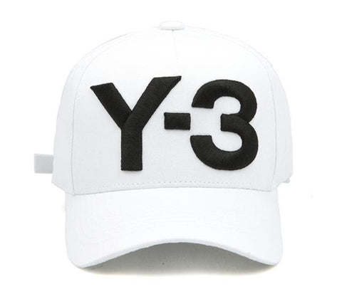 35b0d4069cd ... New Y-3 Dad Hat Big Bold Embroidered Logo Baseball Cap Adjustable  Strapback Hats Y3 ...