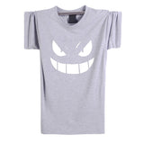 2016 New Fashion Summer Cartoon Pokemon Ash T Shirts Men Short Sleeve Anime Mens Clothing casual Top Tees XS-XXL - Animetee - 8