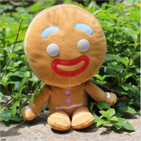 Kawaii Pokemon Plush Toys 25cm Pelucia Shrek Gingerbread Man Bigheadz Shrek Movie Minion Toys For Children Kids Toys - Animetee