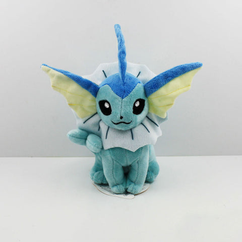 2016 New Pokemon Vaporeon Plush toy figures Toys 20cm Soft Stuffed Anime Cartoon Dolls Gift - Animetee