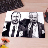 Breaking bad Walter White Jesse Pinkleton Computer Mouse Pad Mousepad Decorate Your Desk Non-Skid Rubber Pad tvi - Animetee - 4