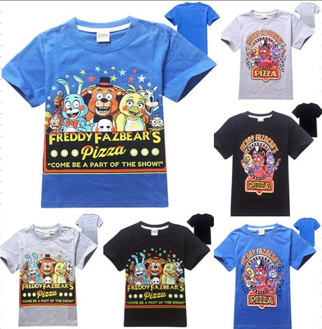 Kids Clothing Five Nights at Freddies Freddy's Tee T-shirt unisex girls boys child youth - Animetee - 3
