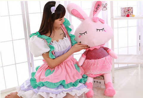 35cm Funko Pop Love Rabbit Doll Plush Toy Lovely Fashion Anime Dolls Stuffed Toys for Child Baby Toys Gift Pokemon Gundam - Animetee - 2