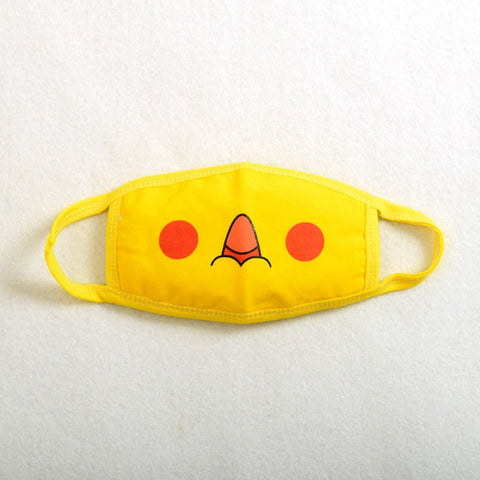 1pc Pokemon Pikachu Cute Face Masks Anti-Dust New Anime Pocket Monster Cosplay Props - Animetee - 2
