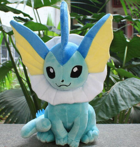 2016 2016 New  Anime Pokemon Vaporeon Plush Doll Stuffed Toys 35CM #10 - Animetee