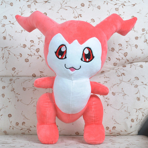 Pokemon Digimon Plush Toys 45cm Digimon Adventure Chibimon Plush Toy Doll Soft Stuffed Toys for Kids Children Christmas Gift - Animetee