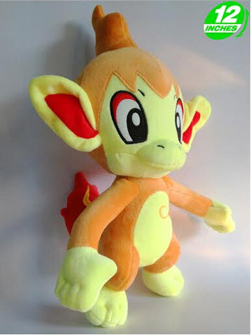 "Free Shipping 2015 New Cute Pokemon Chimchar Plush Toys Doll 12"" High Soft Cartoon Anime Stuffed Toys For Kids - Animetee - 2"