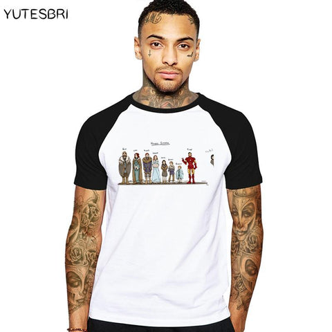 Winter Game of Thrones GOT New years  Funny men clothes house stark T shirt homme summer T-shirt jon snow t shirt cotton male  tshirt AT_77_7