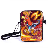 Anime Pokemon Pikacun Mario Dragon Ball Mini Messenger Bag Girls Boys School Bags Kids Book Bag Shoulder Bags For Snacks Lunch - Animetee - 12