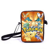Anime Pokemon Pikacun Mario Dragon Ball Mini Messenger Bag Girls Boys School Bags Kids Book Bag Shoulder Bags For Snacks Lunch - Animetee - 7