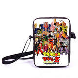 Anime Pokemon Pikacun Mario Dragon Ball Mini Messenger Bag Girls Boys School Bags Kids Book Bag Shoulder Bags For Snacks Lunch - Animetee - 6