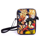 Anime Pokemon Pikacun Mario Dragon Ball Mini Messenger Bag Girls Boys School Bags Kids Book Bag Shoulder Bags For Snacks Lunch - Animetee - 23
