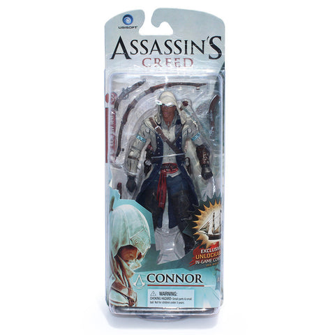 Assassins Creed 4 Black Flag Connor Haytham Kenway Edward Kenway PVC Action Figure Toys new arrival - Animetee - 3