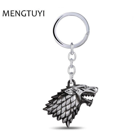Winter Game of Thrones GOT J Store  Keychain For Men Trinket Portachiavi Car Keyring Key Chain Ring Chaveiro Jewelry Gift Souvenir AT_77_7