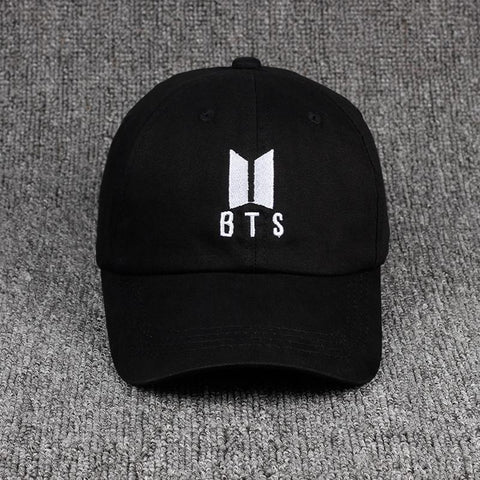 Trendy Winter Jacket Korean bulletproof youth team same style baseball cap embroidery BTS Hats unisex adjustable cotton snapback hat women's hat AT_92_12