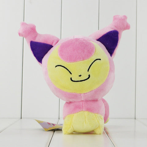 Cute 18cm Kawaii Pokemon Skitty Plush Cat Toys Animal Soft Stuffed Doll Toy free shipping - Animetee