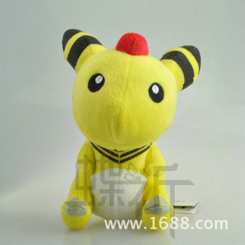 15cm Pokemon Go Crystal Version Ampharos Plush Plush Doll Toy For Gift Mythical Pokemon go High Quality Free Shipping - Animetee
