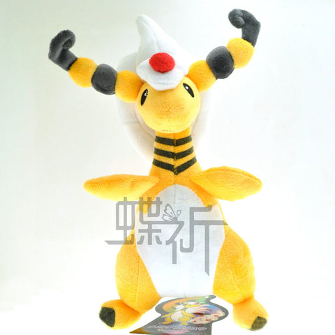 23cm Pokemon Go Crystal Version MEGA Ampharos Plush Doll Toy For Gift Mythical Pokemon go High Quality Free Shipping - Animetee - 2