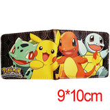 Anime Wallet Pokemon Money Bag Eevee Family Pocket Monster Cartoon PU Purse Pokemon Go Pikachu Animal Doll Figure Toy Gift - Animetee - 1