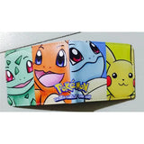 Anime Wallet Pokemon Money Bag Eevee Family Pocket Monster Cartoon PU Purse Pokemon Go Pikachu Animal Doll Figure Toy Gift - Animetee - 7
