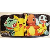 Anime Wallet Pokemon Money Bag Eevee Family Pocket Monster Cartoon PU Purse Pokemon Go Pikachu Animal Doll Figure Toy Gift - Animetee - 8