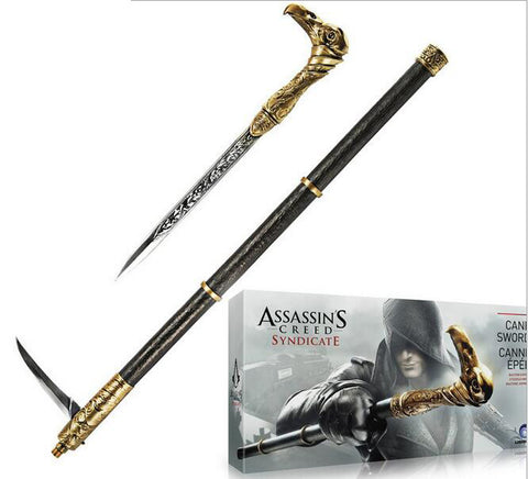 Assassins Creed Syndicate Stick Prop Cosplay Weapon Jacob Frye Pim Stick  Action Figures PVC Collection toys - Animetee - 2