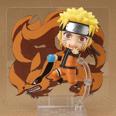 Naruto Sasauke ninja 682# anime action figure  Nendoroid Movable toy Uzumaki  cute cartoon collection boxed kids toy gifts with box T7804 AT_81_8