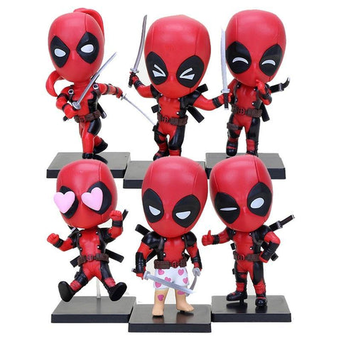 Deadpool Dead pool Taco 6styles  Action Figure Collectible Model Toy 10cm For Anime Lovers New Year Gift AT_70_6