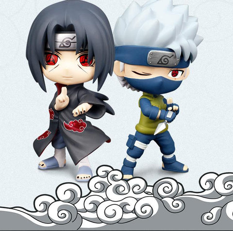 Naruto Sasauke ninja NEW hot 16cm  Uchiha Itachi Hatake Kakashi action figure toys collector Christmas gift doll with box AT_81_8