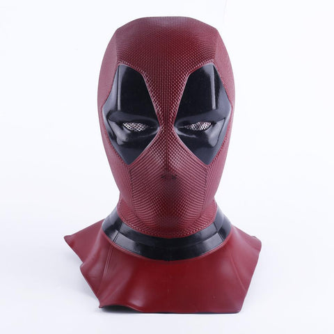 Deadpool Dead pool Taco 2018 New Moive  2 Mask Breathable PVC Full Face Mask Halloween Cosplay Props  Hood Helmet AT_70_6
