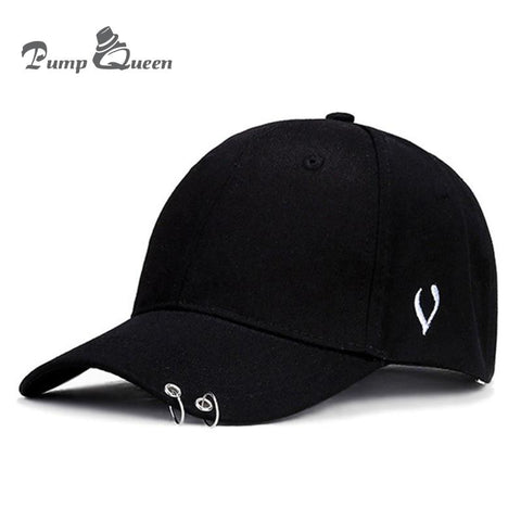 Trendy Winter Jacket Pump Queen Hot selling 2018 BTS LIVE THE WINGS TOUR Fashion K POP Iron Ring Hats Adjustable Baseball cap 100% Handmade Ring AT_92_12