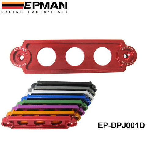 Anodized JDM EPMAN RACING Battery Tie Down For Honda Civic/CRX 88-00 , for Integra, S2000 EP-DPJ001D - Animetee - 1